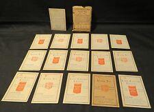 Vintage Lord Calvert Coffee & Vesper Tea Game APT Lithographic Co