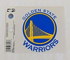 "Golden State Warriors 3"" x 4"" Small Static Cling Truck Car Window Decal NEW NBA"