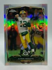 Aaron Rodgers Green Bay Packers 2014 Topps Chrome Refractor #83 *FREE SHIPPING*