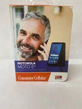 Consumer Cellular Postpaid Motorola Moto E6  (16GB) - Black NEW SEALED