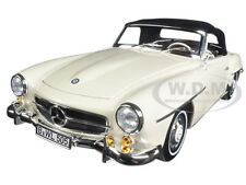 1957 MERCEDES 190 SL BEIGE 1/18 DIECAST MODEL CAR BY NOREV 183539
