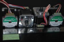 PACK / LOTE 4 MOTORES PASO A PASO SANYO DENKI 1A MOTOR PAP 3D ,CNC, ROBOT ...