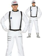 Adults Astronaut Costume Mens Space Man Suit Fancy Dress Womens Outfit New