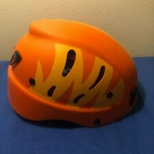Camp Armour JUNIOR Climbing MOUNTAINEERING Helmet ORANGE ~ Pre-Owned!