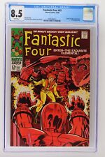 Fantastic Four #81 - Marvel 1968 CGC 8.5 Crystal joins the Fantastic Four. Wizar