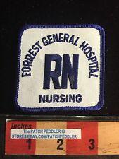 RN REGISTERED NURSE Medical Patch ~ FORREST GENERAL HOSPITAL HATTIESBURG MS 61C2