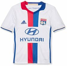 Adidas Olympique Lyonnais Maillot de Football Garçon White/collegiate Royal/re