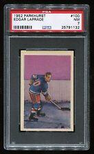 1952 Parkhurst #100 Edgar Laparade *NY Rangers* PSA 7 NM #25791132