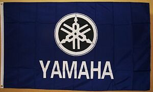 Yamaha Motorcycle 3' X 5' Flag Great Indoor Outdoor Banner