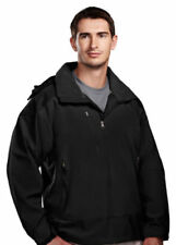 J2548 Tri-Mountain Men/'s Windproof 1//4 Zip Convertible Zip Winter Windshirt