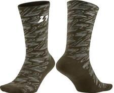 NEW Nike Air Jordan Retro 8 AJ Men's Large Crew Socks Casual Green SX5569-355