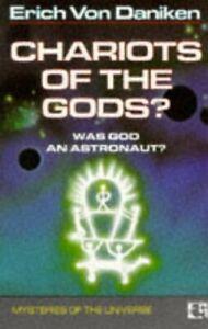 Chariots of the Gods : Was God An Astronaut? by Erich Von Daniken, NEW Book, FRE