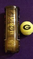 University Of Georgia Us Open Logo Tennis Balls - New In Can