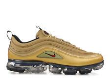 5f189bd508 Mens Nike Air Vapormax 97 Metallic Gold Varsity Red Black White Aj7291-700  US 10