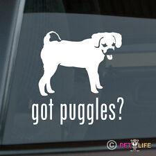 Got Puggles Sticker Die Cut Vinyl