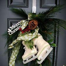 """Black White Metal Door Hook Christmas Door Wreath Coat Hanger Organizer 12 """""""