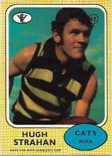 1972 Scanlens (42) Hugh STRAHAN Geelong Near Mint :/: