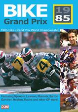 BIKE GRAND PRIX 1985 DVD. FREDDIE SPENCER. MOTORCYCLE GP. 240 Mins. DUKE 4766NV