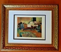 HENRI MATISSE ORIGINAL 1948 AWESOME PRINT MATTED 11 X 14 + RESALE  $795