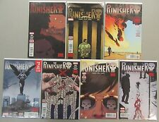 Punisher #4 5 6-10 Run Lot 7 Comics 2016 Cloonan Dillon NM/VF 1st Prints Marvel
