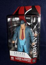 "DC Collectibles Batman: The Animated Series HARVEY BULLOCK 6"" Action Figure BTAS"