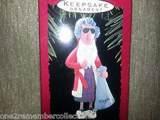 Hallmark Keepsake 1993 Maxine In Robe Shoebox Greetings Christmas Ornament New