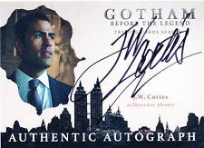2017 Gotham Season 2 J.W. Cortes Detective Alvarez  Autograph Auto Card (D)