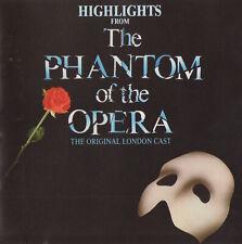 THE PHANTOM OF THE OPERA - MICHAEL CRAWFORD / SARAH BRIGHTMAN - SOUNDTRACK CD