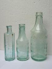 More details for 3 victorian/edwardian glass veterinary bottles