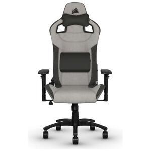 NEW Corsair T3 RUSH Gaming Chair - Grey/Charcoal CF-9010031-WW