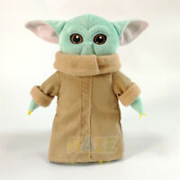 "Star Wars The Force Awakens Baby Yoda Soft Toy Plush Doll 10-12"" Kids Graet Gift"