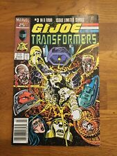 Marvel G.I. Joe and the Transformers March 1987 Issue #3