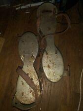 Vintage 50s Metal roller skates.