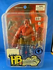"""Hellboy Red w/ Towel Six-Pack Keychain 7"""" action figure Mezco 2008 Con Exclusive"""
