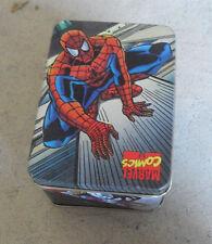 Vintage 1994 Nabisco Marvel Spider-Man Small Tin Box
