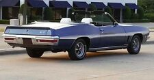 1972 Pontiac GTO Convertible Ducktail 3 Piece Spoiler