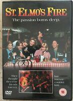 St Elmo's Fire DVD 1985 Brat Pack Eighties 1980s Teen Movie Film Classic BNIB
