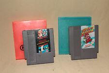SUPER MARIO BROS / DUCK HUNT + SUPER MARIO BROS 2 WITH CASES FOR NINTENDO NES