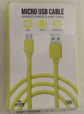 GEMS Micro USB Cable braided charge & sync cable