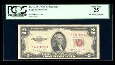 DBR 1953-B $2 Legal STAR Fr. 1511* PCGS 25 Serial *03571978A