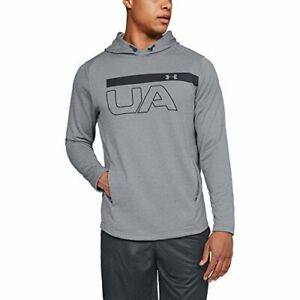 Under Armour UA Men's MK-1 Terry Pullover Hoodie - Grey - New