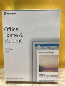Microsoft Office Home And Student 2019 NEW Windows 10