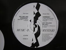 """Soul Rare Groove 90's 12""""-Music & Mystery-Dominoes/Say You Love Me Girl-UK KTDA"""