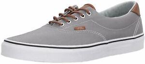 Vans Era 59 C & L Grey Brown Mens Skate Trainers Shoes