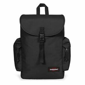 Eastpak Austin + Black Water Resistant 15-Inch Laptop Vegan Friendly Backpack
