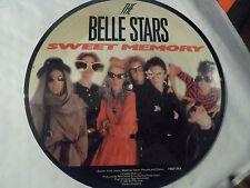"The Belle Stars – Sweet Memory / April Foo , 7"" vinyl picture disc,"