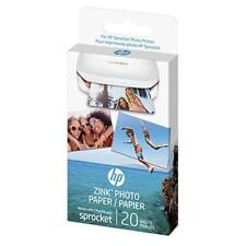HP Zink Photo Paper 2x3 Snapshots 20 Sheets W4Z13A Sprocket