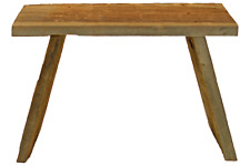 Rustic Redwood Build-Ups Small End Table