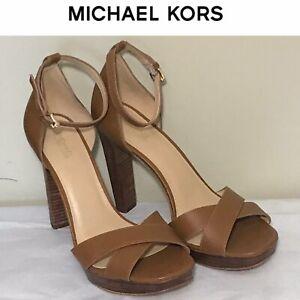 Michael Kors Women's High Heels Sandals New Size 9.5