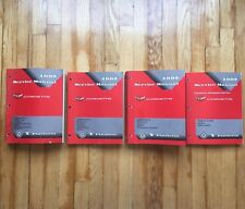 1997 GM Chevrolet Corvette OEM Service Shop Manual +Supplement Manual 4-Vol Set